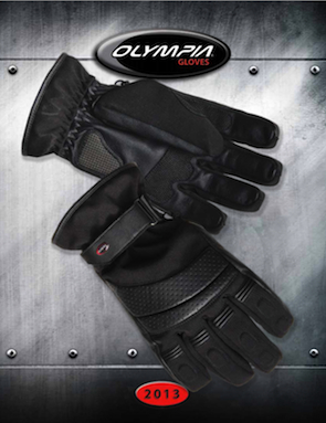 2013 Product Catalog for becoming an Olympia Gloves dealer