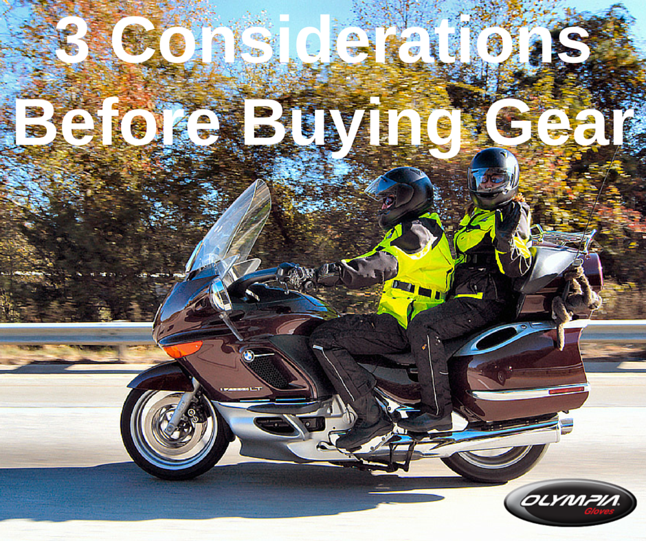 considerations_before_buy_motorcylce_gear