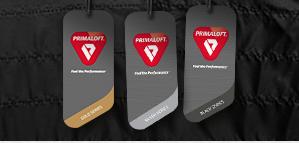 Primaloft Hang tag system