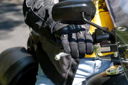 is_block_glove_hand_throttle_yellow_black