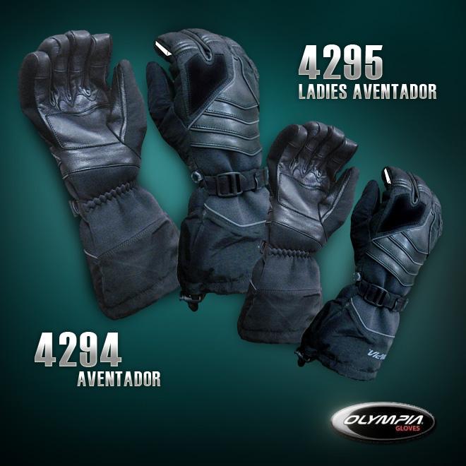 Ladies & Mens Aventador Motorcycle Gloves