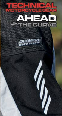 Olympia Apparel with slogan superimposed
